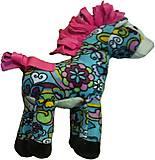 Мягкая лошадка с розовой гривой, D1225820-3, фото