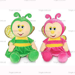 Мягкая музыкальная игрушка «Бабочка», LA8595