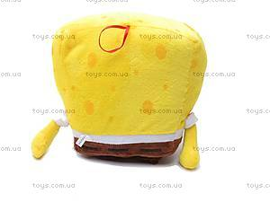 Мягкая музыкальная игрушка «Губка Боб», М-XY4622-В, фото