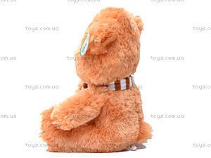 Мягкая музыкальная игрушка «Медвежонок», S38-1258/28, фото