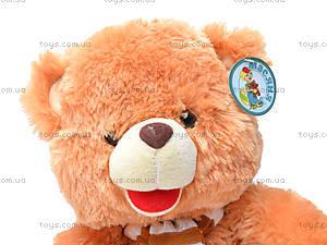 Мягкая музыкальная игрушка «Медвежонок», S38-1258/28, цена