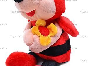 Мягкая музыкальная игрушка «Пчелка», M-CW-8273-2, фото