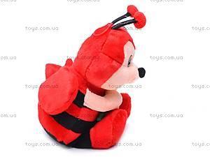 Мягкая музыкальная игрушка «Пчелка», M-CW-8273-2, цена