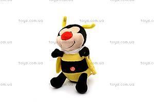 Мягкая музыкальная игрушка «Пчелка Бари», F-4196