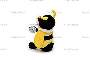 Мягкая музыкальная игрушка «Пчелка Бари», F-4196, купить