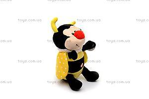 Мягкая музыкальная игрушка «Пчелка Бари», F-4196, отзывы