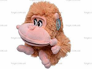 Мягкая музыкальная обезьянка, МТ2-4286, игрушки