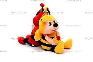Мягкая музыкальная пчелка, M-CW-8273-3, цена