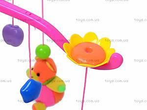 Мягкая музыкальная погремушка, HL2012-20, toys.com.ua