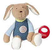 Мягкая музыкальная игрушка sigikid «Собачка» 26 см, 38791SK, купить