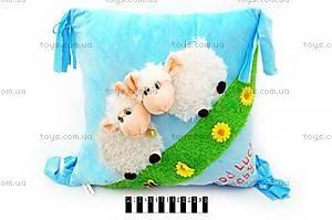Мягкая подушка с животными , 14027
