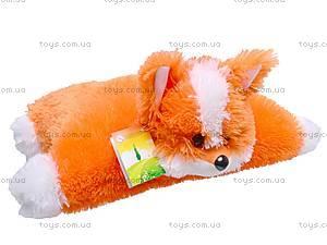 Мягкая подушка «Солнечная лисичка», 15.01.022, фото