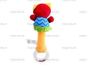Мягкая погремушка-игрушка, FK340, отзывы