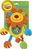 Мягкая развивающая игрушка-подвеска «Лев Руру», LKS0\M, фото