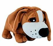 Мягкая собачка басет, СО-0104, детский