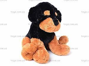 Мягкая собака, сидячая, Q-298-113TM