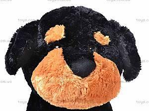 Мягкая собака, сидячая, Q-298-113TM, фото