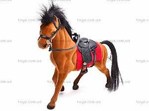 Мягкая велюровая лошадь, 325B, фото