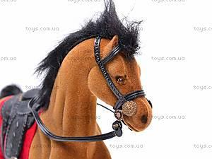 Мягкая велюровая лошадь, 325B, цена