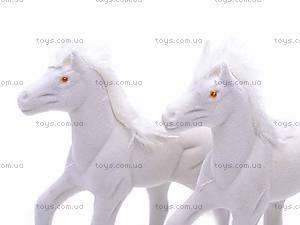 Мягкая велюровая лошадь, 325B, детские игрушки