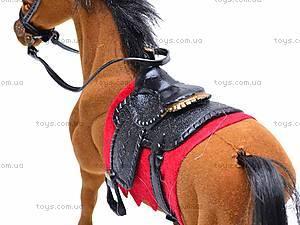 Мягкая велюровая лошадь, 325B, магазин игрушек