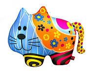 Мягкая игрушка антистресс SOFT TOYS «Кот в цветочек», DT-ST-01-62, фото