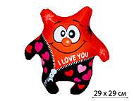Мягкая игрушка антистресс SOFT TOYS «Красная звезда», DT-ST-01-48, игрушка