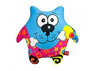 Мягкая игрушка антистресс SOFT TOYS «Пес-звезда», синий, DT-ST-01-46, купить