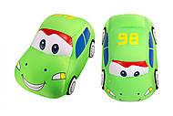 Мягкая игрушка антистресс SOFT TOYS «Зеленая машинка», DT-ST-01-06, фото