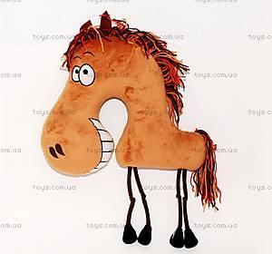 Мягкая игрушка для детей «Весёлая лошадка», LVL01