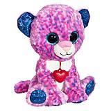 Мягкая игрушка «Глазастик Леопард» 22 см, GLP0R\S, игрушки