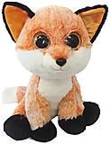 Мягкая игрушка-глазастик «Лисенок», GLN0R