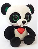 Мягкая игрушка-глазастик «Панда», GPA0\S, купить