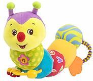 Мягкая игрушка «Гусеничка» Baby Team, 8535, фото