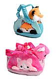 Мягкая игрушка животное в сумочке, CLG17052