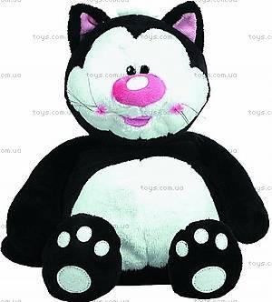 Мягкая игрушка «Кот», черно-белый, 7-42810