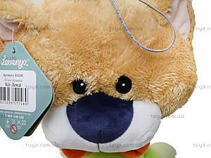 Мягкая игрушка «Кот Денди», К424С, цена