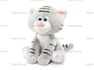 Мягкая игрушка «Котенок полосатый», LA8708