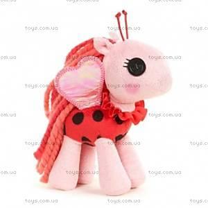 Мягкая игрушка Lalaloopsy Божья коровка серии «Мой плюшевый пони», 527749