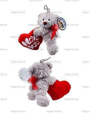 Мягкая игрушка «Медведь с сердечком», ABX1877415