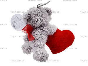 Мягкая игрушка «Медведь с сердечком», ABX1877415, фото