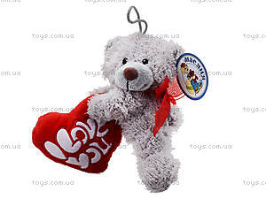Мягкая игрушка «Медведь с сердечком», ABX1877415, отзывы