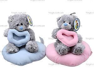 Мягкая игрушка «Медведь Тедди» с сердечком, AB867718, цена