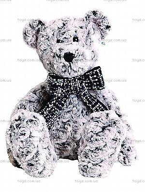 Мягкая игрушка «Медвежонок серый с бантом», 14-72484