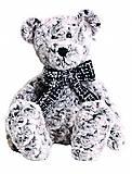 Мягкая игрушка «Медвежонок серый с бантом», 14-72484, фото