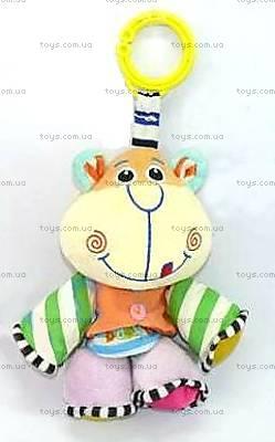 Мягкая игрушка «Музыкальная обезьяна», 4006, магазин игрушек
