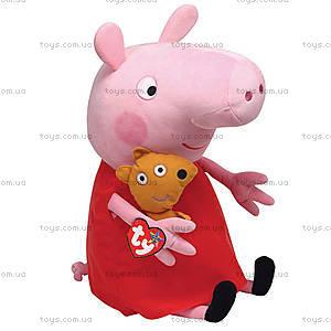 Плюшевая игрушка «Пеппа с игрушкой», 25097