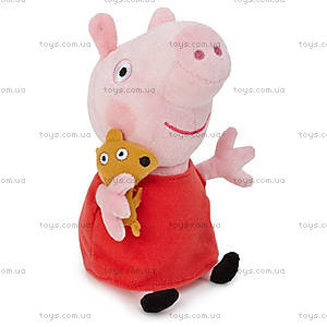 Мягкая игрушка «Пеппа с игрушкой», 25087, купить
