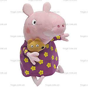 Мягкая игрушка для детей «Пеппа с игрушкой», 25102