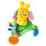 Мягкая игрушка-прорезыватель «Жираф Озорник», МС 160201-01